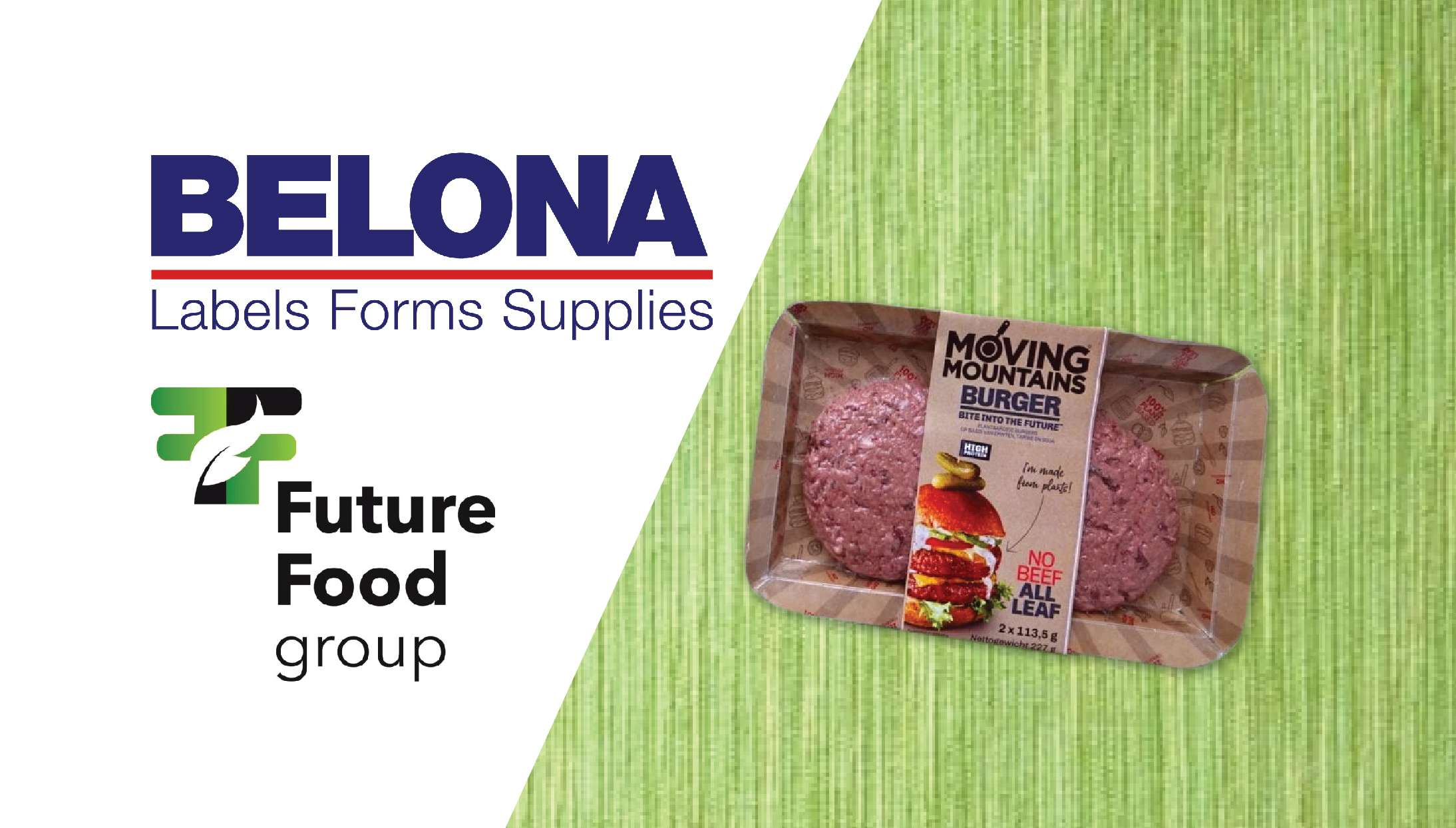 Future Food Group en Ravenwood labels van Belona